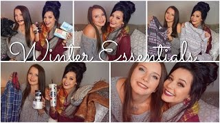 Autumn & Winter Essentials Featuring My Sister!