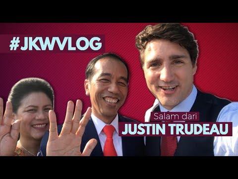 #JKWVLOG Salam dari Justin Trudeau