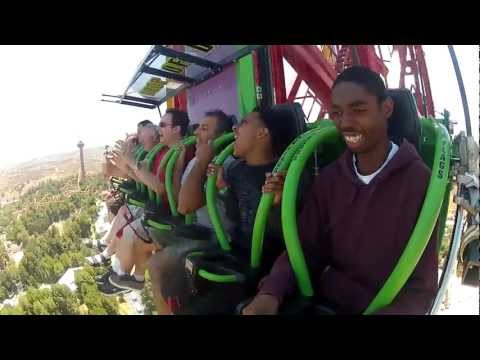 Lex Luthor: Drop of Doom POV Six Flags Magic Mountain