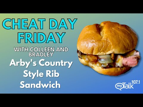Cheat Day Friday: #Arbys Real Country Style Rib Sandwich