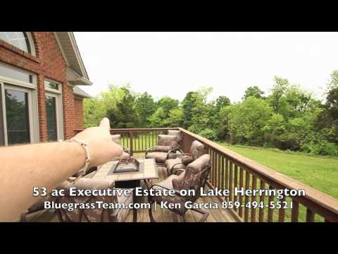 53 acre Executive Farm for sale on Lake Herrington, Kentucky