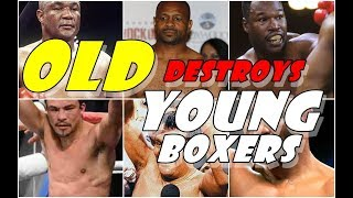 When YOUNG Boxer Gets destroyed by  OLD boxer