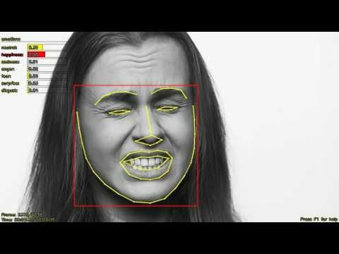 Tests of Emotions Detection from a Video