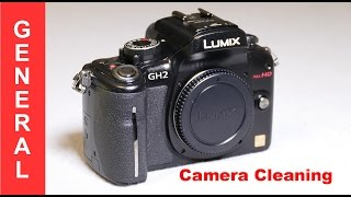 Cleaning your camera for resale, or just restoring its appearance