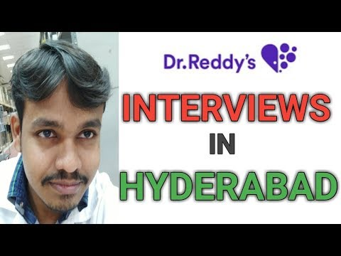 Dr Reddy's Walk in interviews for Quality control And Production dept in Hyderabad