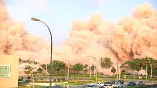 Implosão do Perna Seca! #UFRJFaz100anos