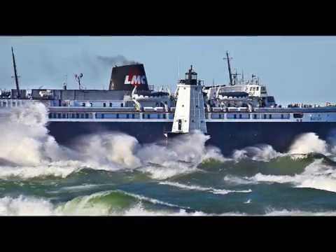 ss Badger, Lake Michigan, Great Lakes, Mack the Knife