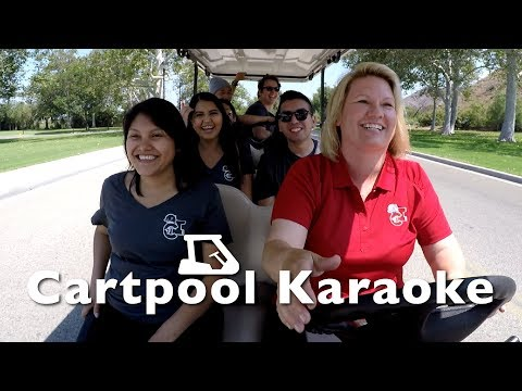 Cartpool Karaoke with President Beck