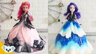 AMAZING Descendants 3  Doll Cake | Mal and Audrey | Birthday Cake Compilation | Cake Art | Koalipops