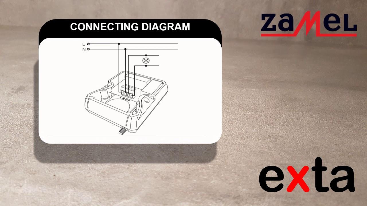 Implus- Zamel Bistabiles Relais 230V AC PBM-01 Exta