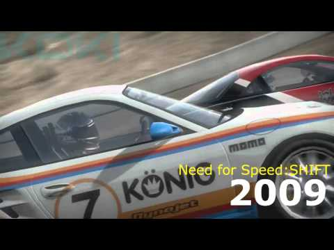 Evolution of: Racing Video-games  (1973-2015)