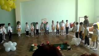 Утренник Be Happy на  английском языке  в детском саду N 40