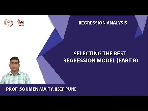 Selecting the BEST Regression Model (Part B)
