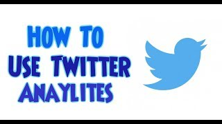 How To Use Twitter Analytics - How To Check Twitter Analytics
