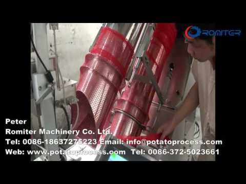 Automatic Potato Mesh Bag Packing Machine for Supermarket