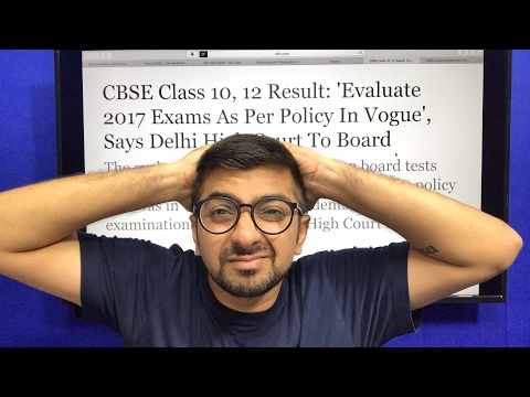 CBSE results 2017. Marks Decrease Decision by CBSE?