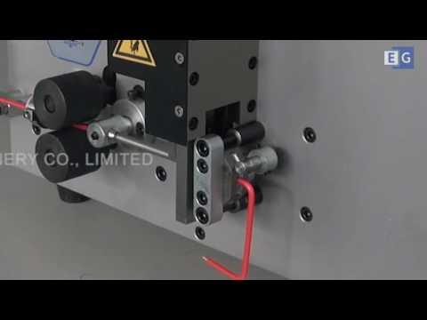 видео: Автоматическая машина для нарезки и зачистки проводов ks-09k-2