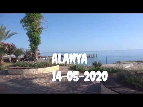 ALANYA 14 мая Набережная Отели Kaila и Asia Море Аланья