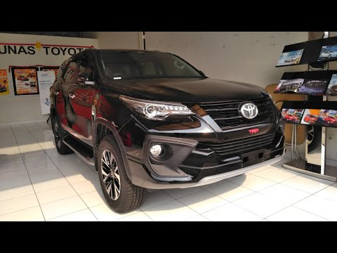 Toyota Fortuner 2.7 SRZ A/T TRD Start Up & Review Indonesia