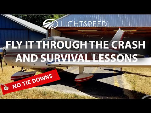 Aviation No Tie Downs: Fly it through the crash and survival lessons