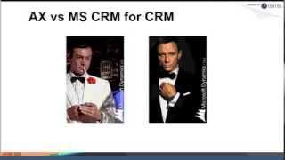 الاستفادة من جميع وظائف CRM صلب Dynamics AX