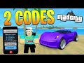 2 *SECRET* NEW CODES IN MAD CITY! (Roblox)