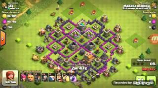 Ataque De Clash Of Clans
