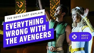 The Boys Cast Explain Everything Wrong With The Avengers - Comic Con 2019