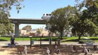 Sights & Sounds of Elevated  Bart in Union City Park