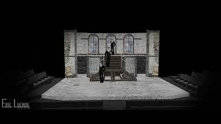 The Csardas Princess - Scenic Design by Eric Luchen