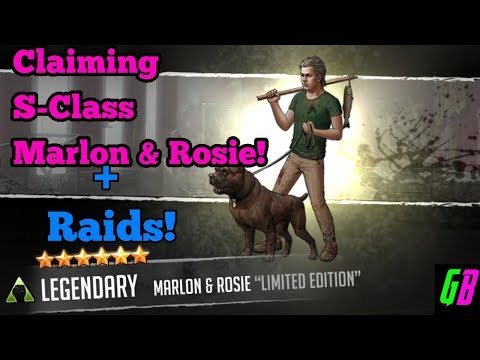 Claiming S-Class Marlon & Rosie! - Walking Dead Road To Survival