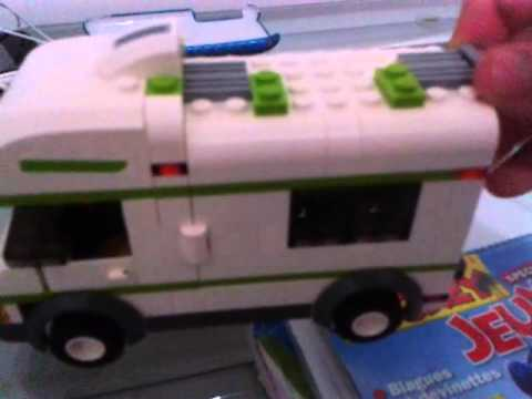 lego city camping car set 7639 youtube. Black Bedroom Furniture Sets. Home Design Ideas