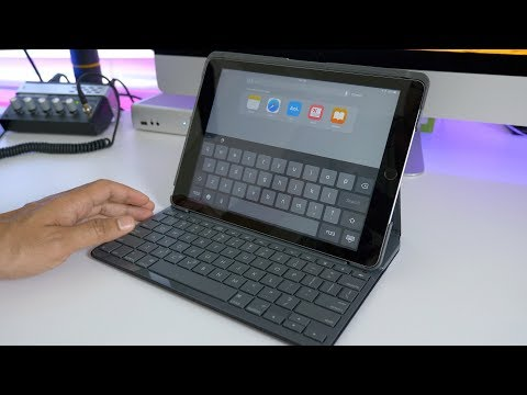 FOUR year battery life? Logitech's 2017 iPad Slim Folio keyboard case
