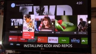 INSTALLING KODI 16 AND  ON NEXUS PLAYER BEST STREAMING DEVICE