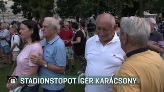 Stadionstopot ígér Karácsony Gergely 19-09-01