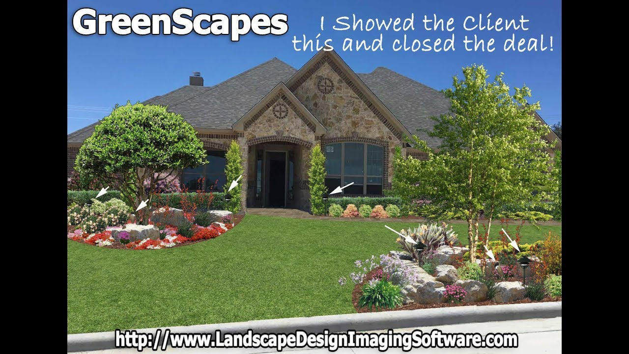 Greenscapes 2018 Landscape Design Software Youtube
