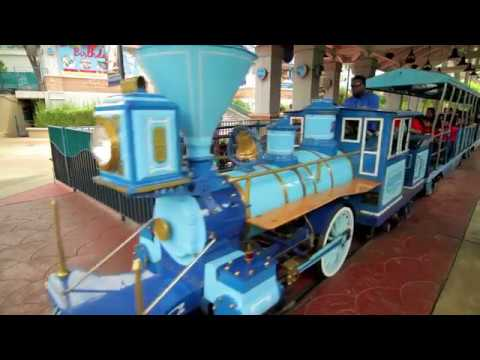 C.P. Huntington Trains From Chance Rides