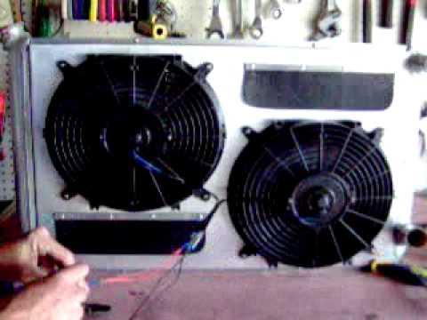 Radiator Fan Amp Shroud Cfm Demonstration Youtube