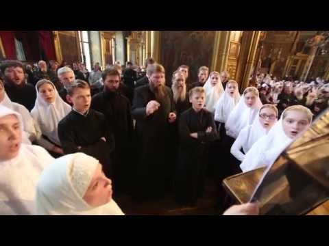 Видео, Выступление хора певчих старообрядческих приходов Сибири. руководитель  Александр Емельянов
