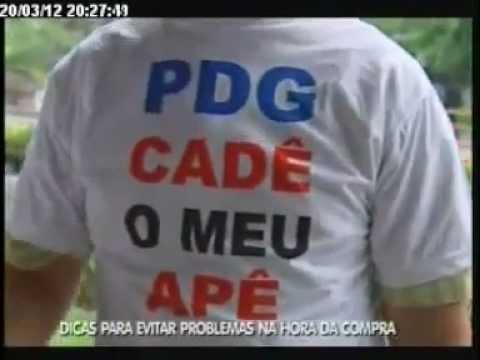 Reportagem sobre atraso de obras da PDG realty em Salvador.