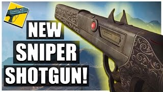 THE CHAPERONE IS UNBELIEVABLE! | NEW SNIPER SHOTGUN | Destiny