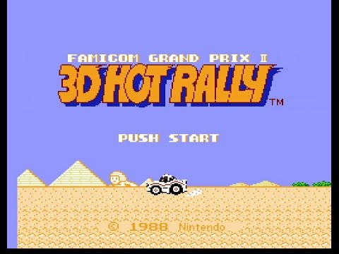 FDS Famicom Grand Prix II: 3D Hot Rally