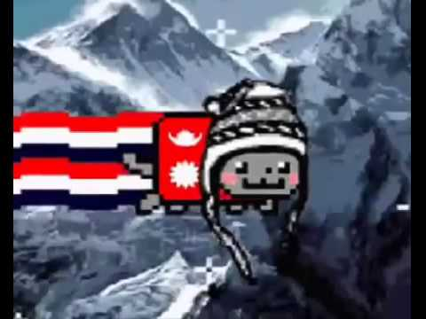 Nyan cat in 205 countries all countries