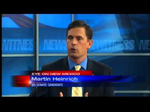 U.S. Senate candidate Martin Heinrich joins Eye on NM