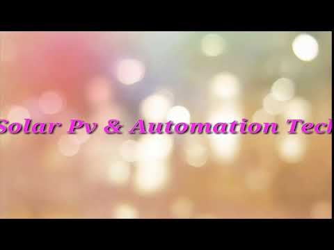 Solar Pv & Automation Tech