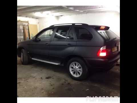 Plasti Dip Bmw X5 Matte Black Black And White Tints