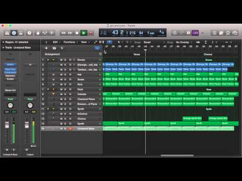 Snoop Doggy Dogg Gin and Juice Instrumental Logic Pro Remake