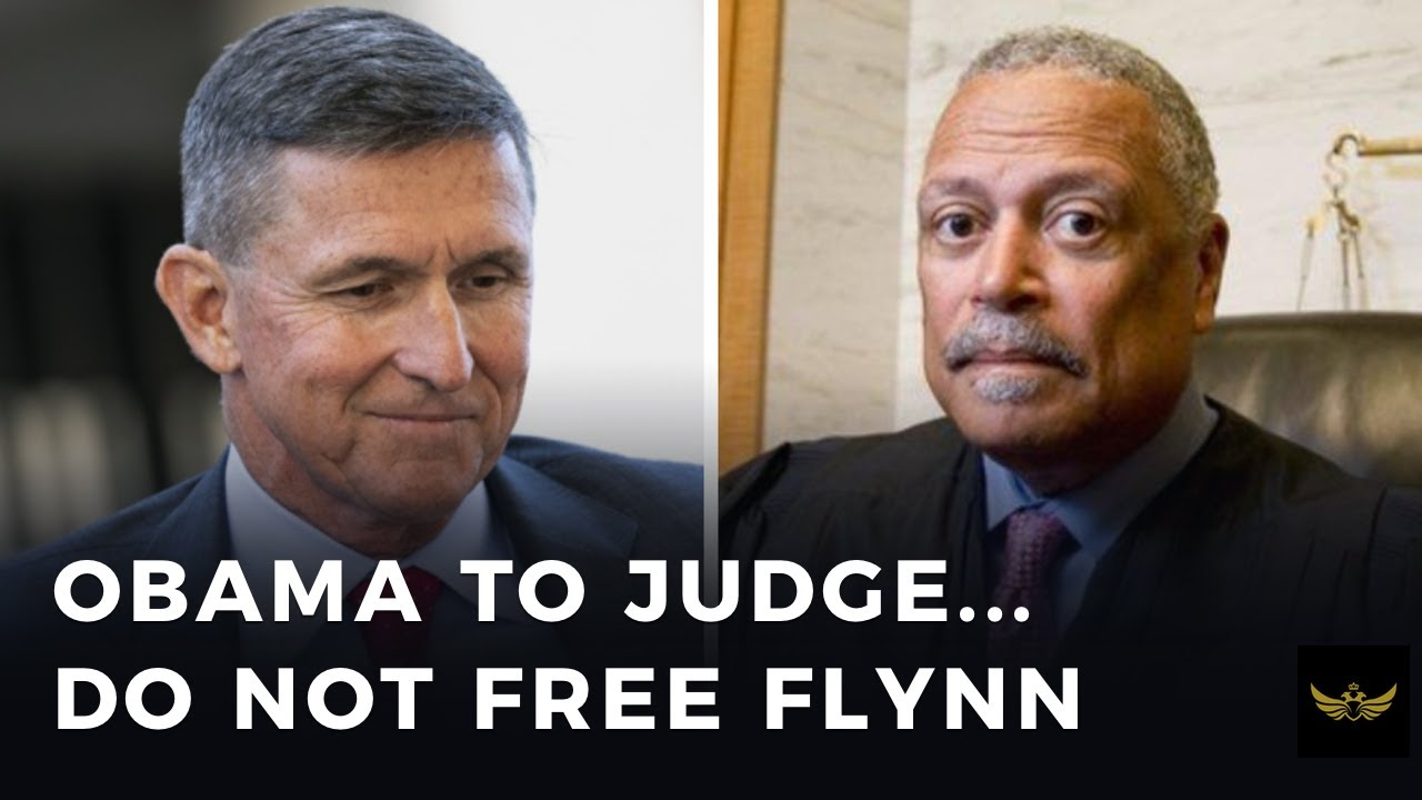 Obama signals to Judge Sullivan, not to free Michael Flynn