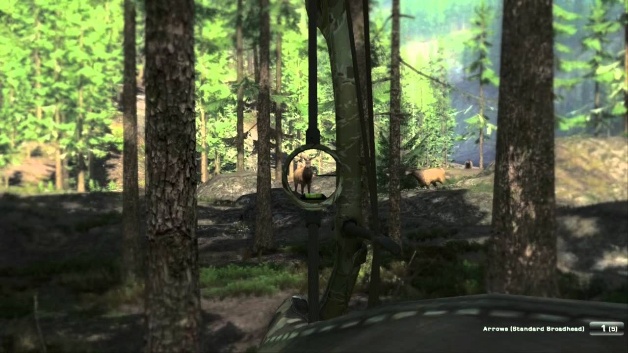 Big Elk Bow Hunting Thehunter Video Game Pc Youtube