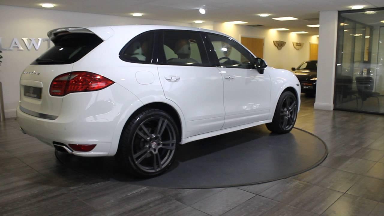 Porsche Cayenne White With Black Lawton Brook Youtube